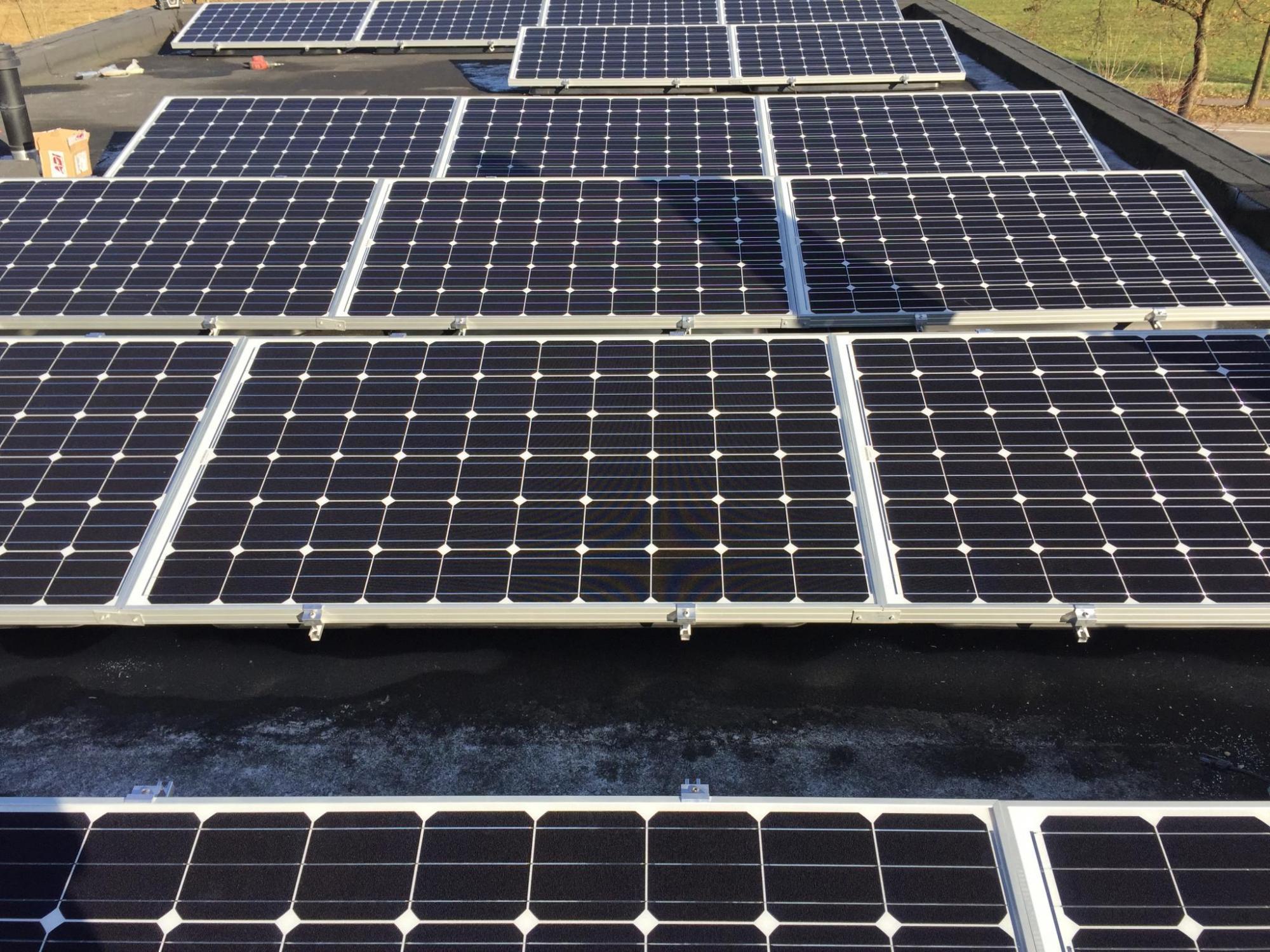 voorbeeldproject zonnepanelen